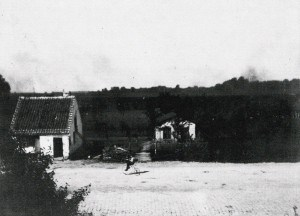 Bomhuset set fra 1. sal på Hotel Nyholte i 1892
