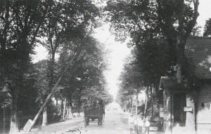 Kongevejsbommen, Nyholte ca. 1912