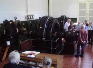 Vestbirk Vandkraftværk, maskinhallen