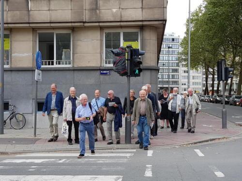 På byvandring i Antwerpen