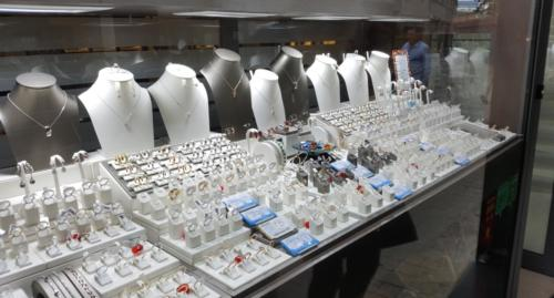 Juvelerbutik i diamantkvarteret
