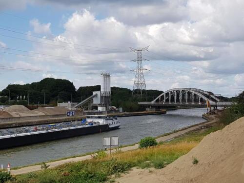 Jernbanebroen ved Herentals