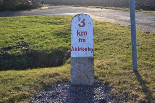 Km-sten på Bornholm