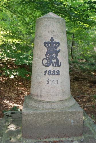 4½-milesten ved Nützen