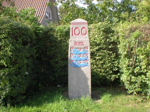 100 km-sten Kalundborg