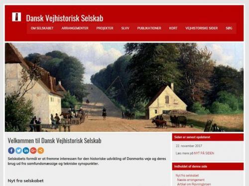 Selskabets hjemmeside