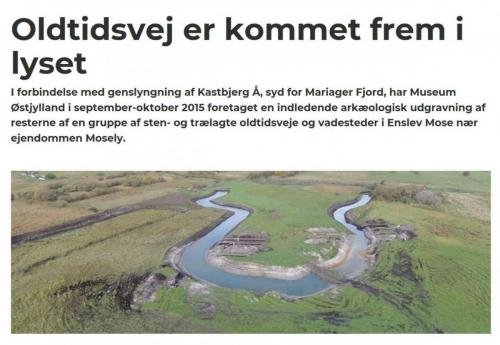 Oldtidsvej ved Kastbjerg Å