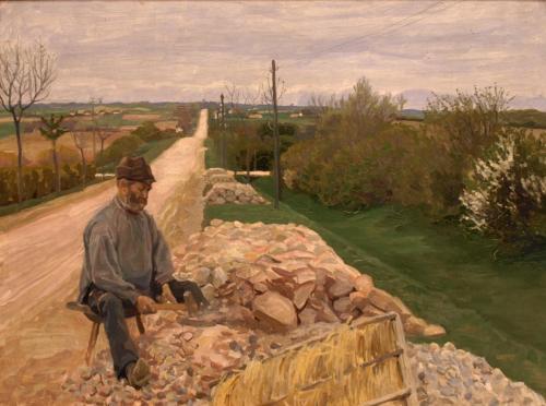 En stenhugger på landevejen