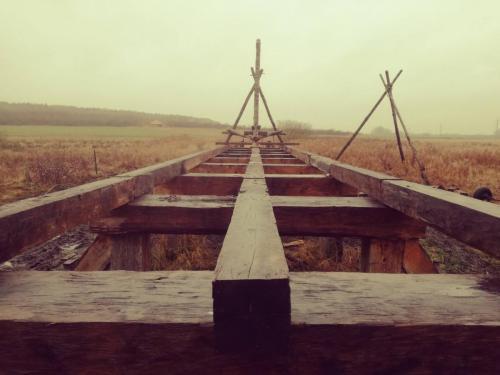 Projekt Vikingebro på Kroppedal Museum