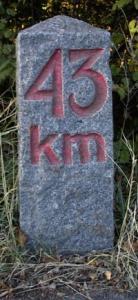 43 km